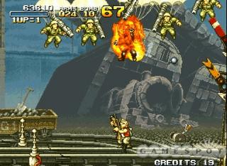 Screenshot Game Metal Slug Anthology PC 1