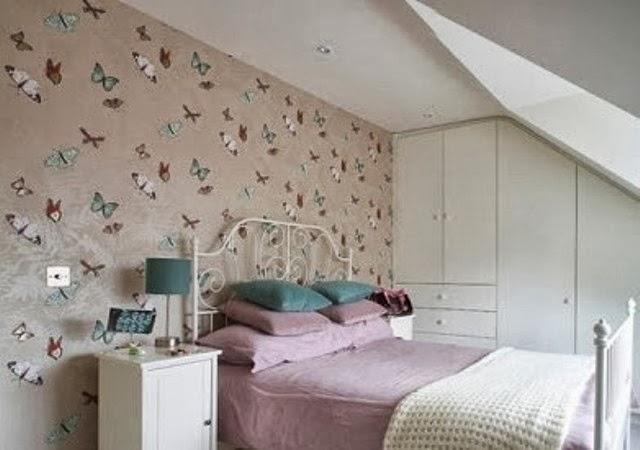 desain wallpaper kamar tidur anak
