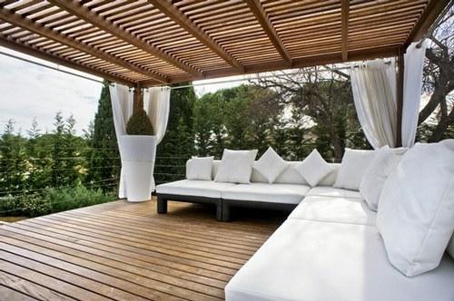 Dise o exterior estructuras para exterior for Estructuras para jardin