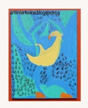 Art Intertwine - Sybil Andrews Gale Inspired Art Activity
