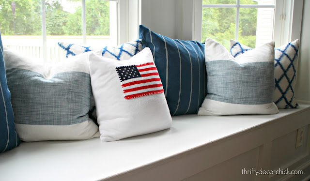 table linen pillows