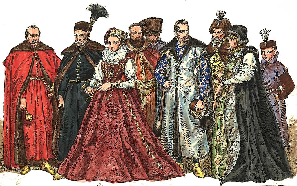 Znalezione obrazy dla zapytania moda w renesansie