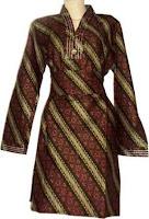 Model Baju Batik Resmi Wanita