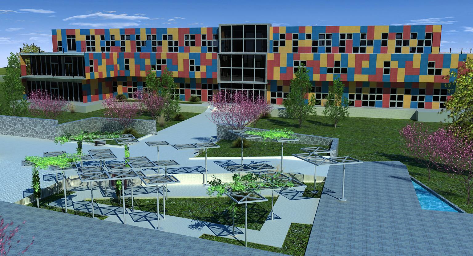 Areko arquitectura 3d tesis aulas para el tiempo libre for Arquitectura de proyectos