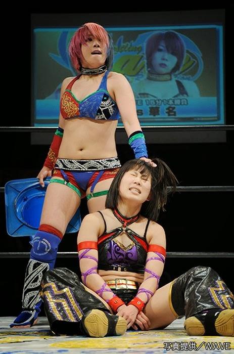 Mio Shirai vs Kana