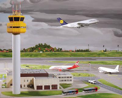 [Internacional]  (Imagens) Aeroporto de Hamburgo em miniatura  Knuffingen-airport_01+%25287%2529