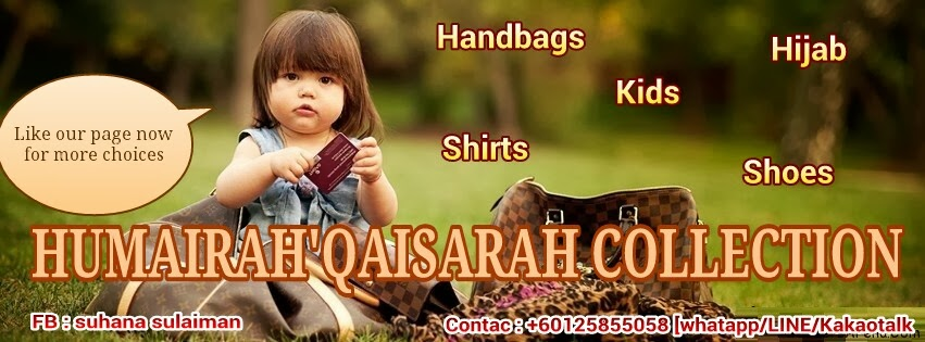 Humairah'Qaisarah Collection's - mairahqiost