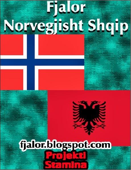 Fjalor Norvegjisht Shqip