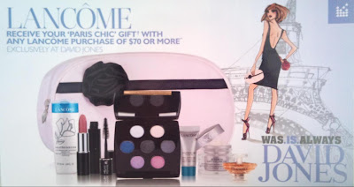 at david jones has just started their bonus gift with purchase offer
