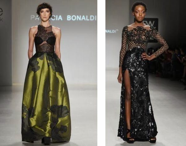 Patricia Bonaldi coleção inverno 2015 vestidos de festa com rendas