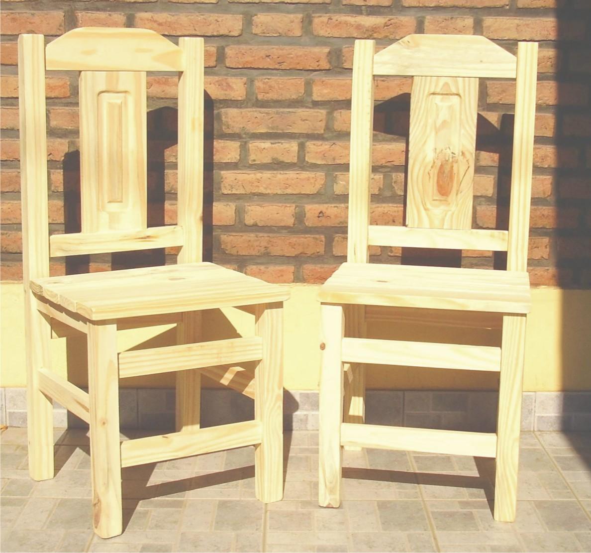 Muebles mym sillas - Sillas de pino ...