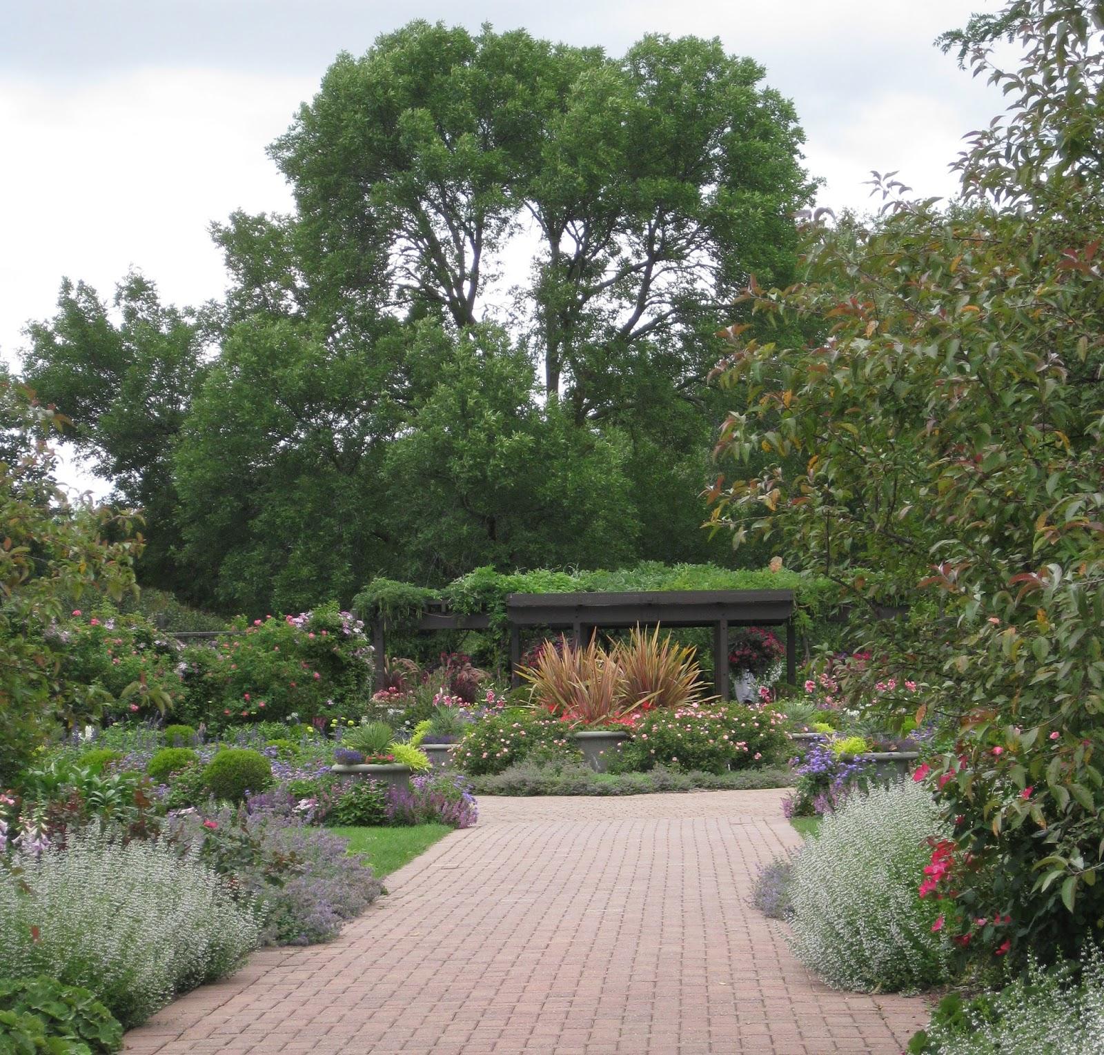 Think Global Garden Local Newsha Visits The Herb Gardens