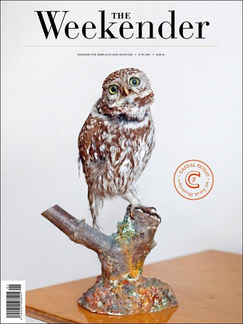 The Weekender Owl Cover