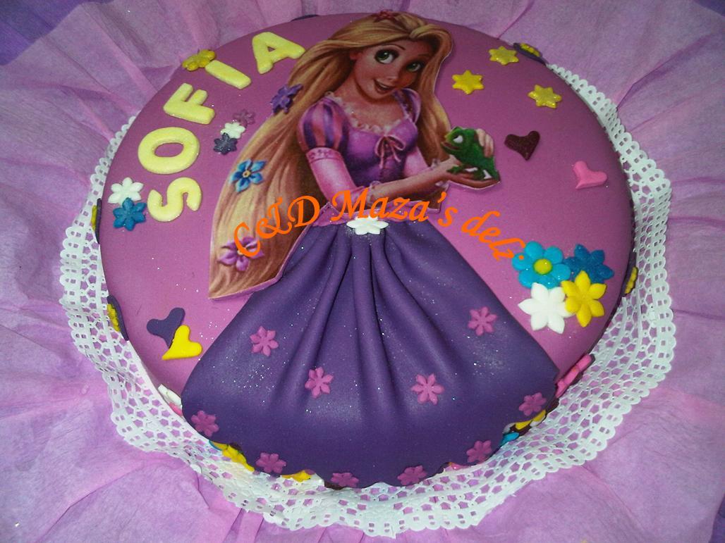 Torta De Rapunzel