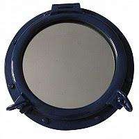 porthole mirror navy