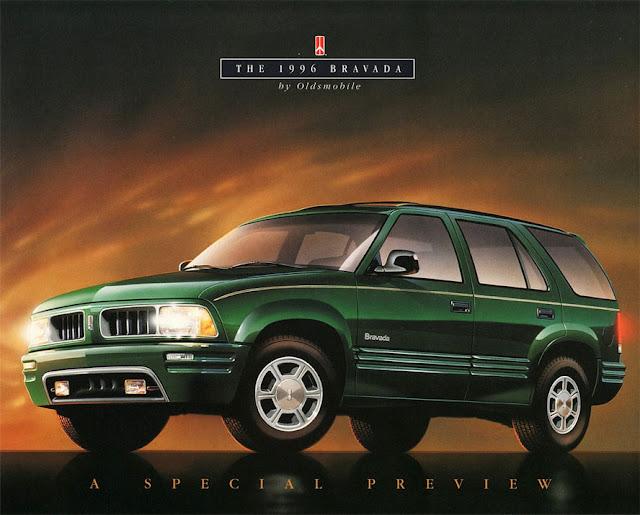 オールズモビル・ブラバダ 2代目 | Oldsmobile Bravada (1996-2001)