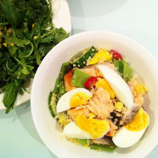 Instagram Fish Salad Healthy Food Blog