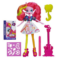 Equestria Girls Pinkie Pie Microphone Doll