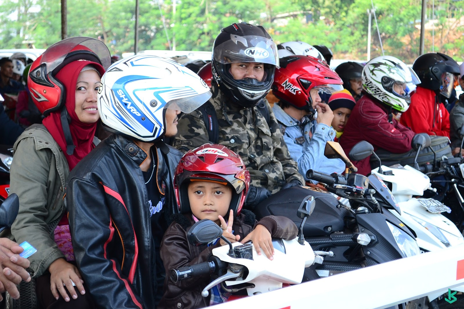 Suasana Mudik Lebaran di Pelabuhan Merak Banten