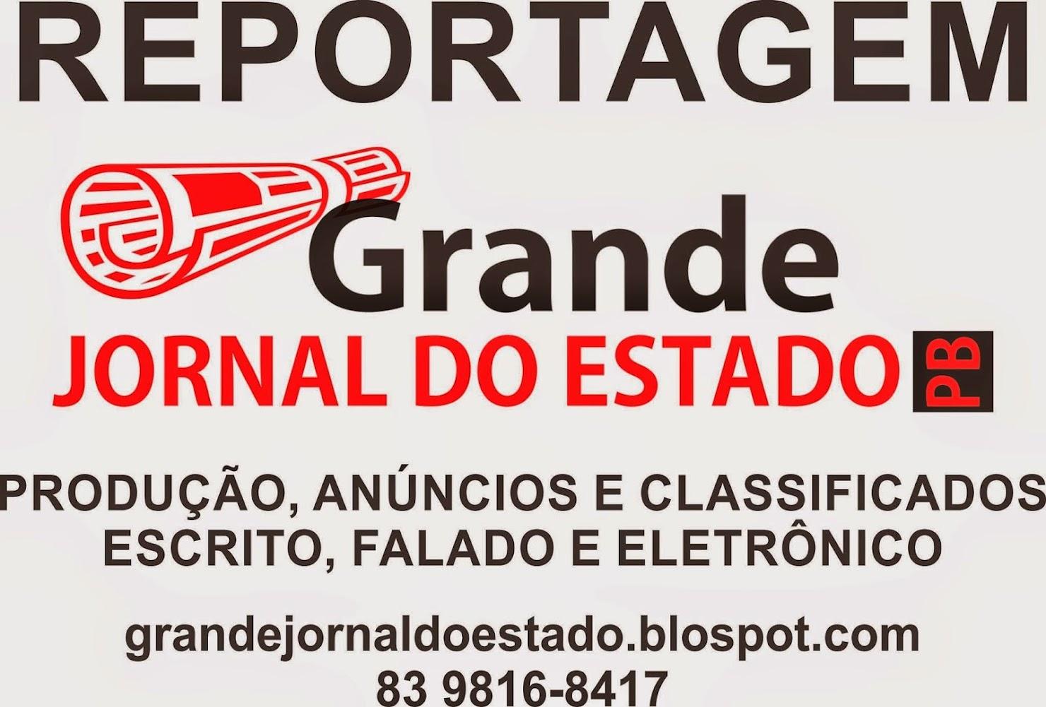 GRANDE JORNAL DO ESTADO PB  =CAJAZEIRAS  PB