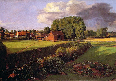 Golding Constable 's Flower Garden,1815