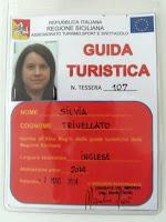 tesserino guida turistica Sicilia Silvia Trivellato