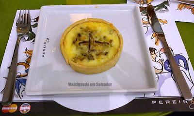 Pereira Café: Quiche de Gorgonzola