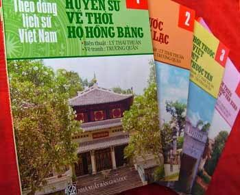 Gia sư Thông Thái giới thiệu bộ sách Lịch sử Việt Nam bằng tranh