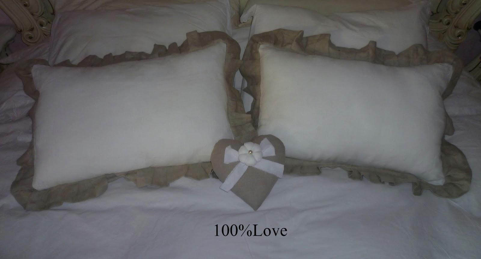 100 love cuscini shabby e letto for Cuscini shabby chic on line