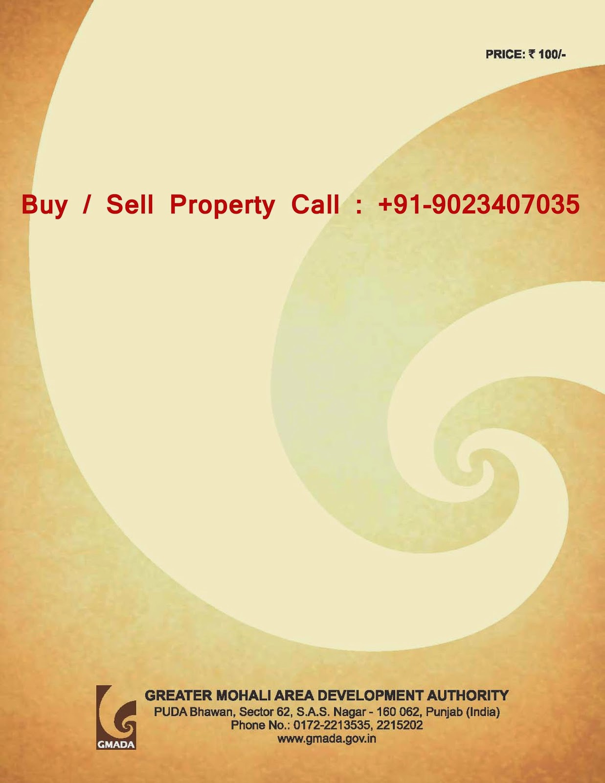 GMADA Ecocity Phase 2 Mullanpur New-Chandigarh Broucher Plots, Allotement and Land-Pooling Property Deals.