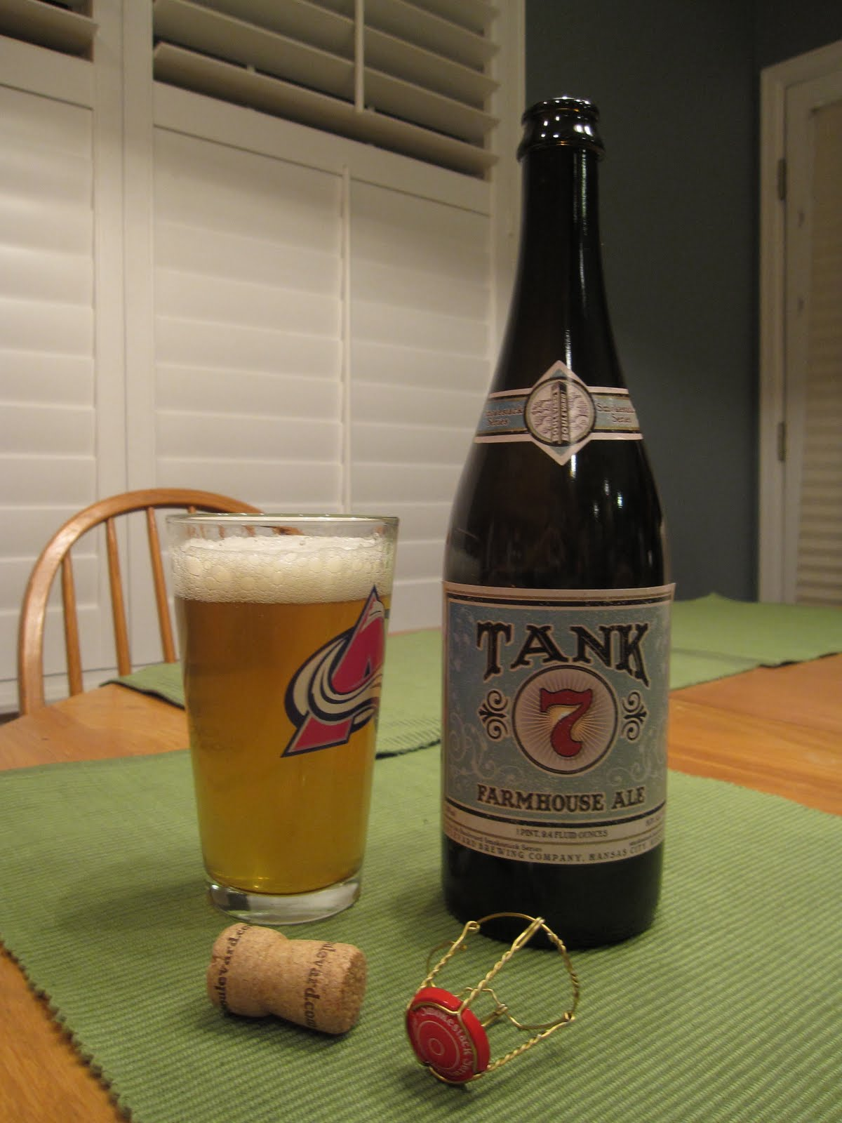 Non Snob Beer Reviews Boulevard Tank 7 Farmhouse Ale