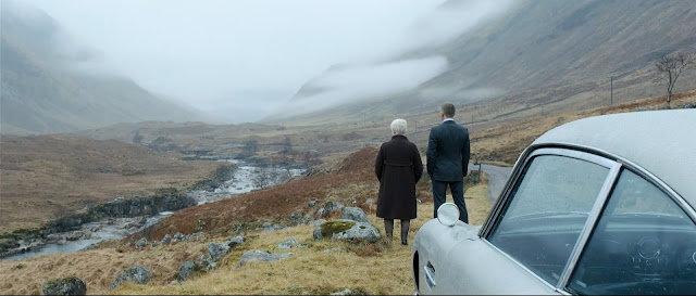 007 Skyfall - James Bond e M - Scozia, verso Skyfall