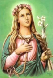 Santa Filomena, rogai por nós