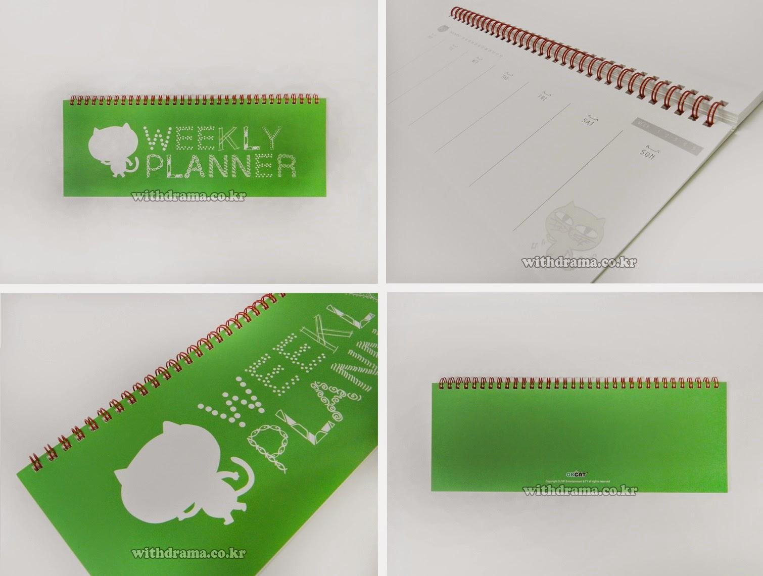 kedai kpop my   merchandise  okcat weekly planner