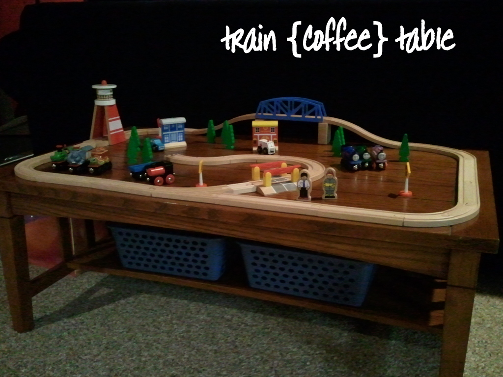 Creative cents train coffee table Train table coffee table