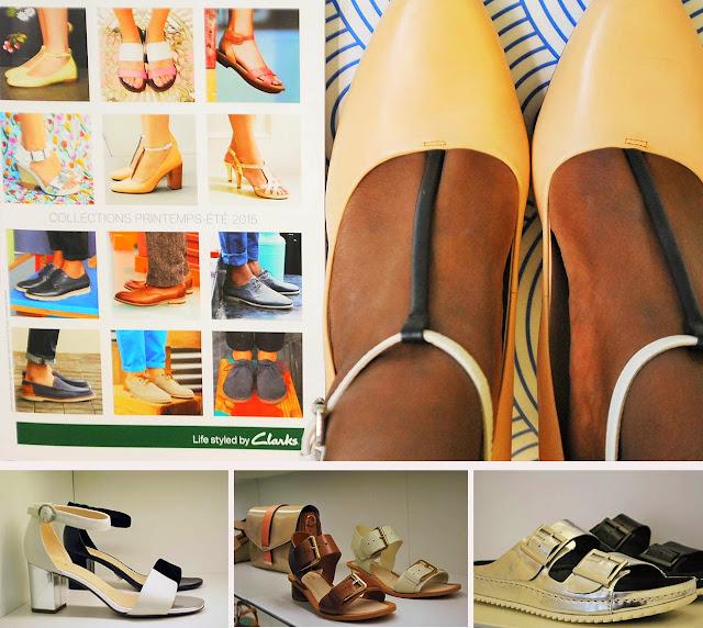 Clarks, salomés, chaussures à brides, blog mode marseille