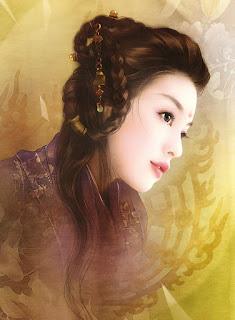 Bellas Rostros de Mujeres de China Oriental