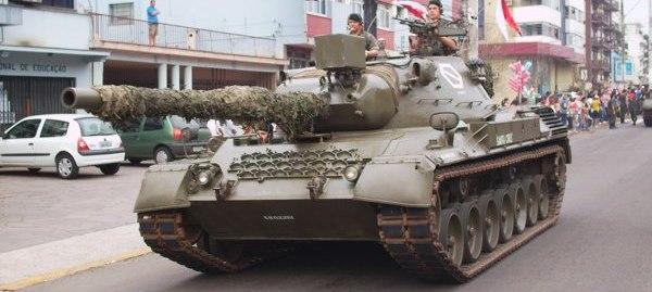 Tanques de Sudamerica