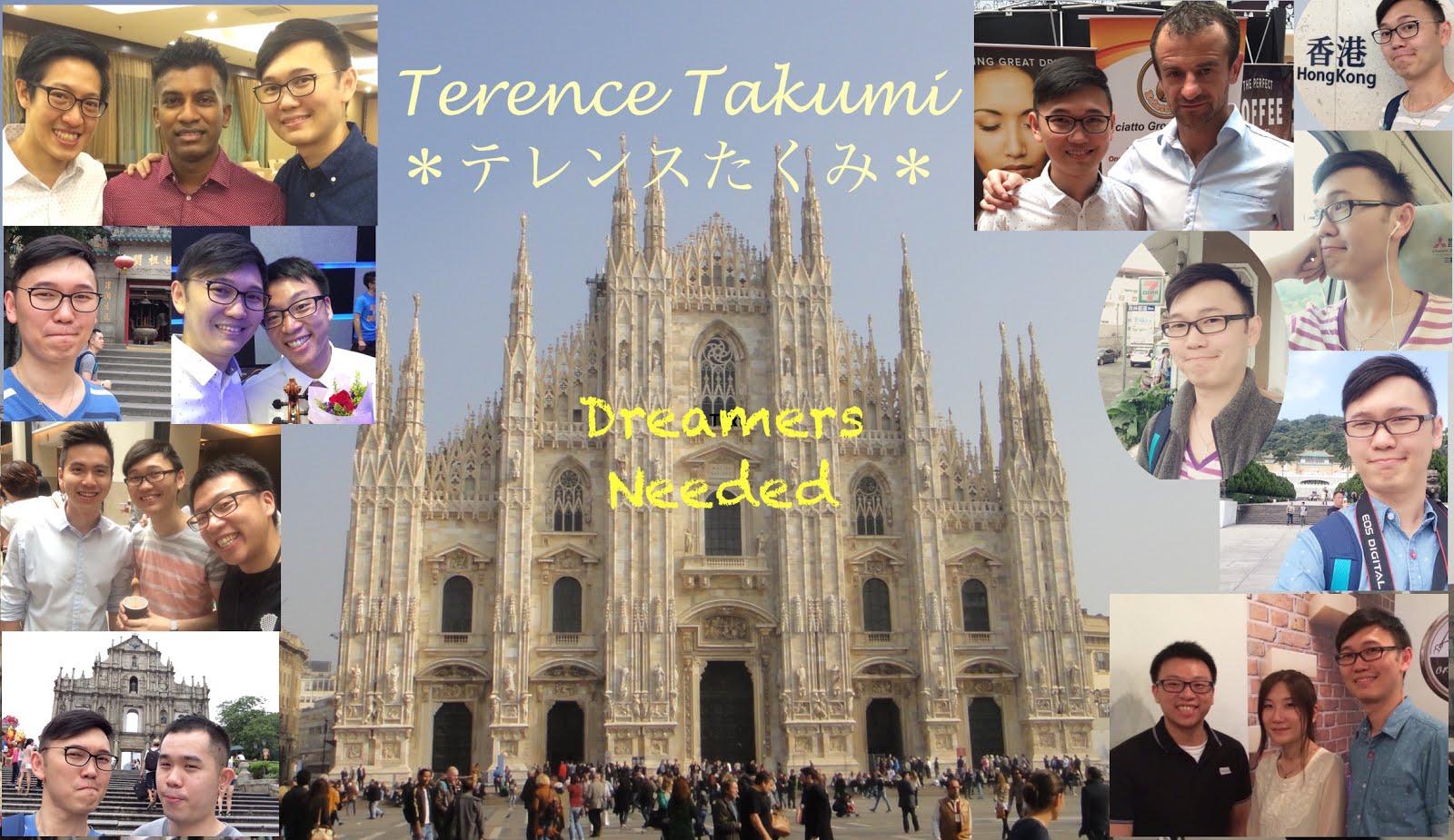 Terence Takumi~私はテレンス巧みです®