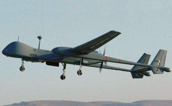 Heron UAV Israel