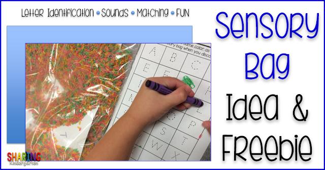 http://www.sharingkindergarten.com/2014/08/sensory-bag-idea-freebie.html