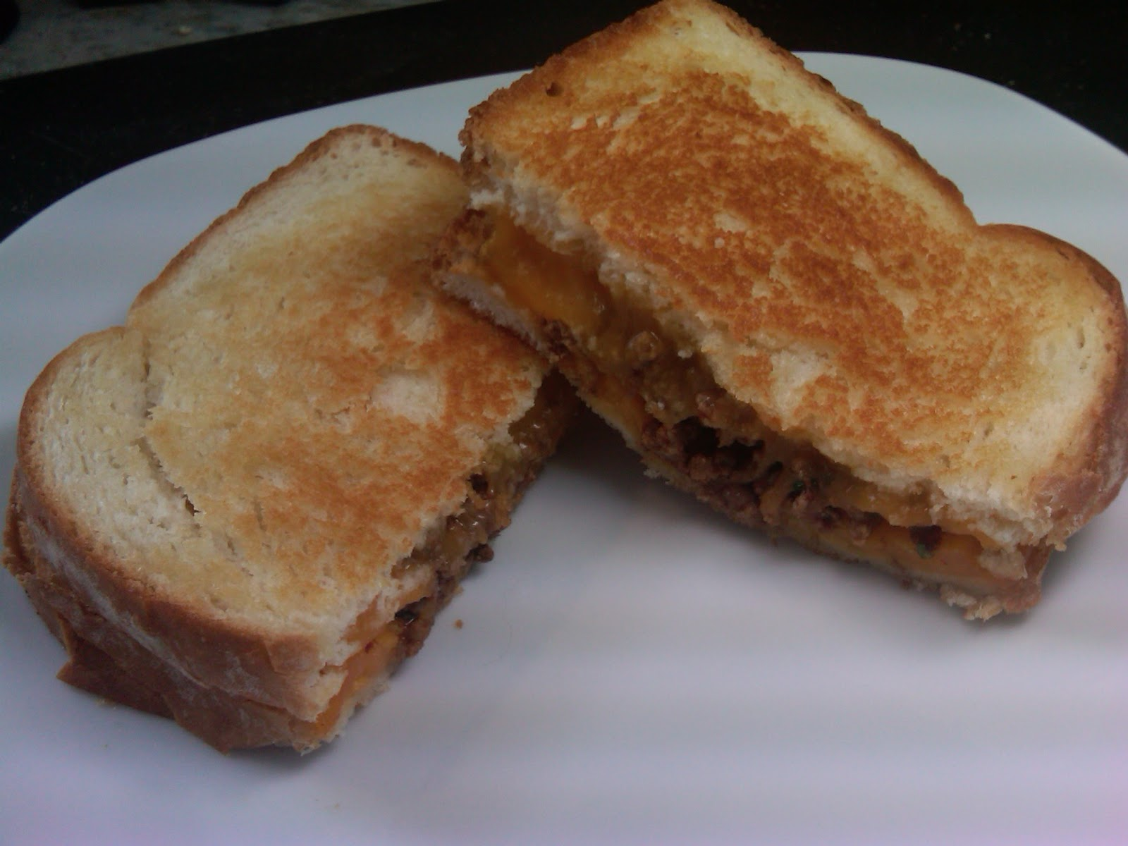 Michele's Woman Cave: Taco Grilled Cheese Sandwich