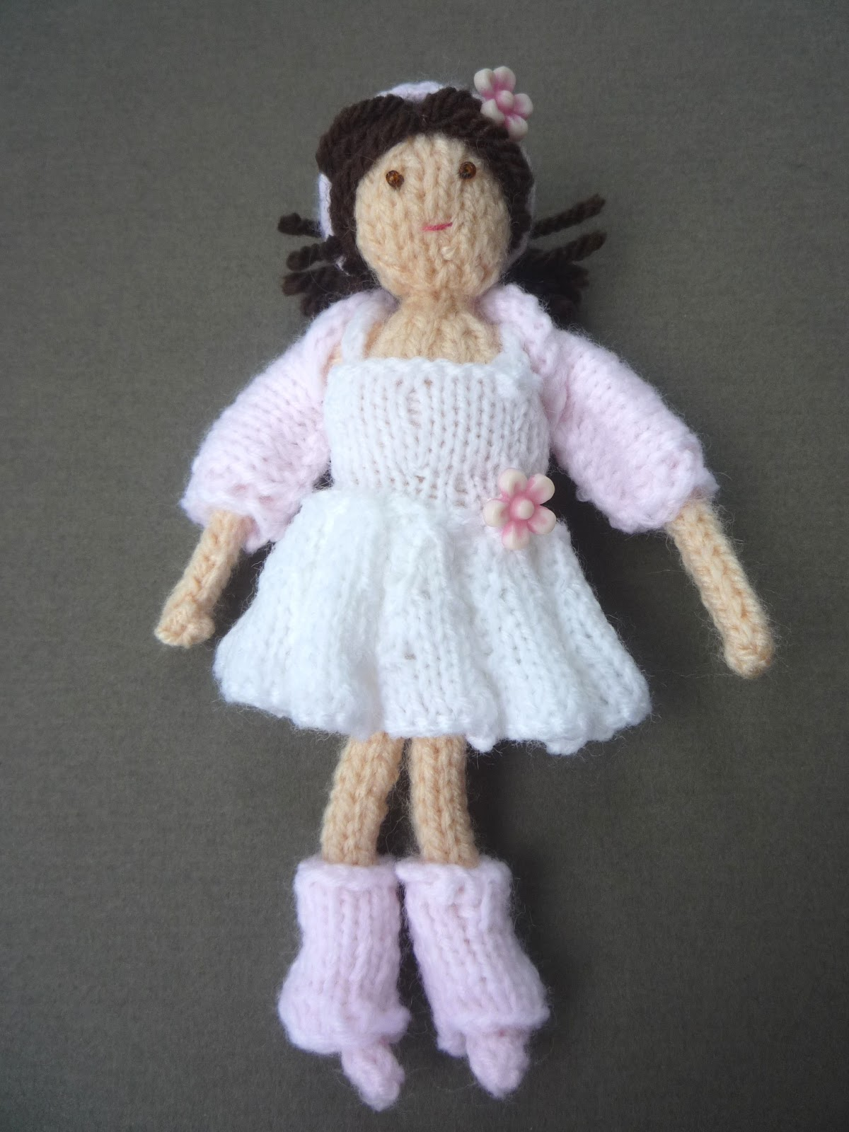 Free Toy Knitting Patterns Only : the Creations of Crazy Dazy: new pattern release