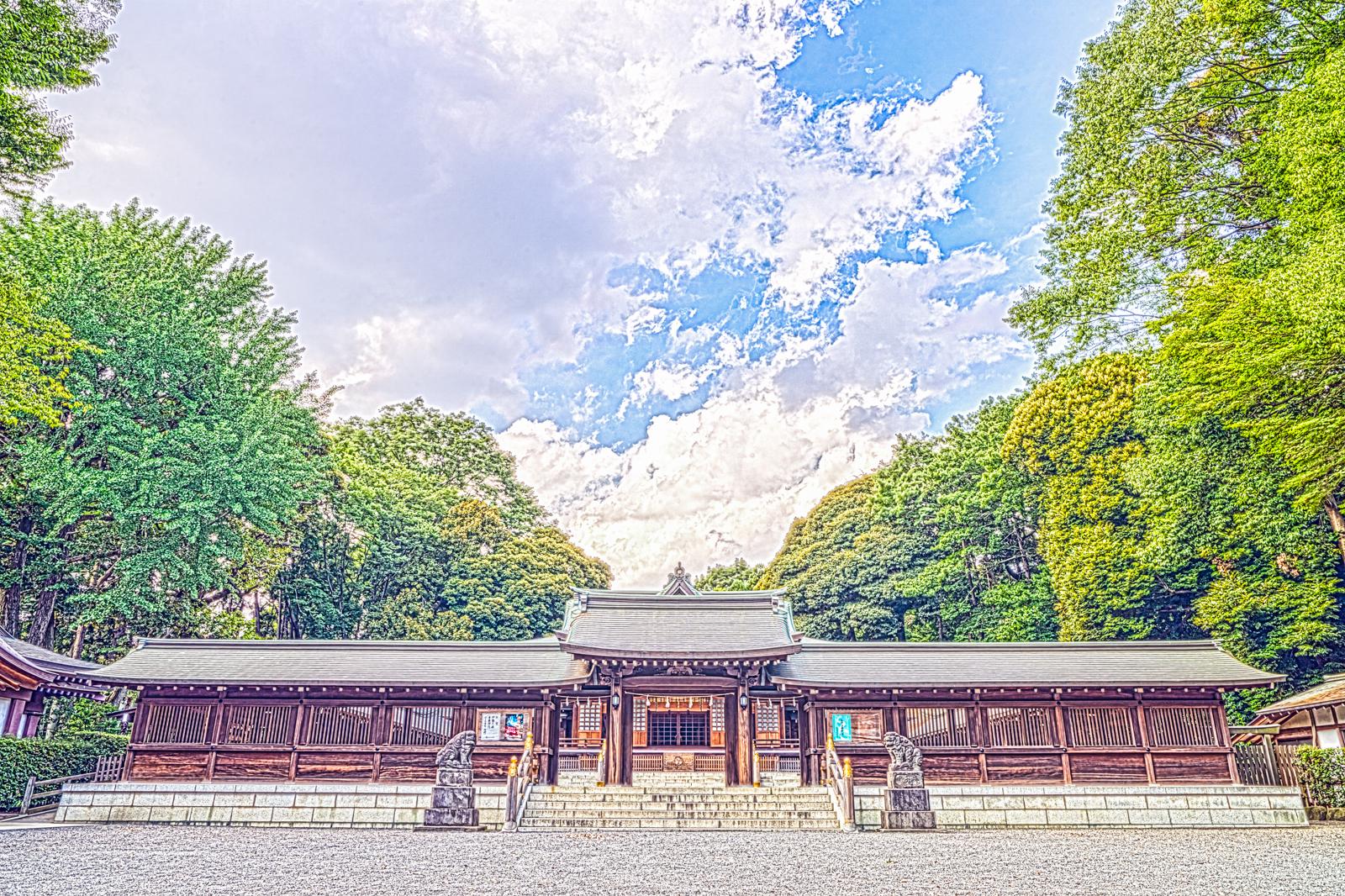 神門の写真 HDR