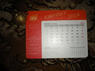Kalendarz od GFK Polonia
