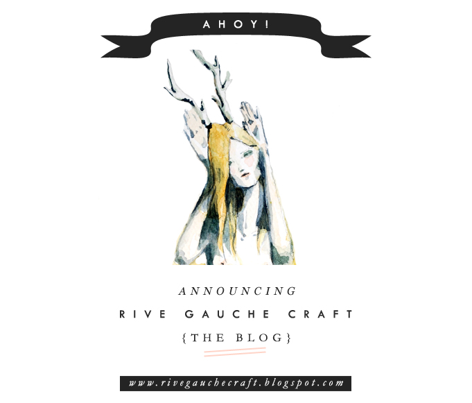 fashion illustration, new design and art blog opening