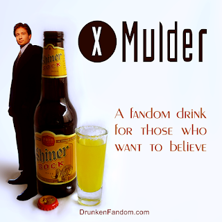 Mulder, Shiner Bock and a Sunflower Seed Shot