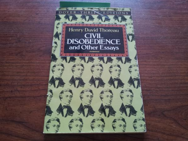 the daily beat henry david thoreau died years ago today my copy of civil disobedience and other essays