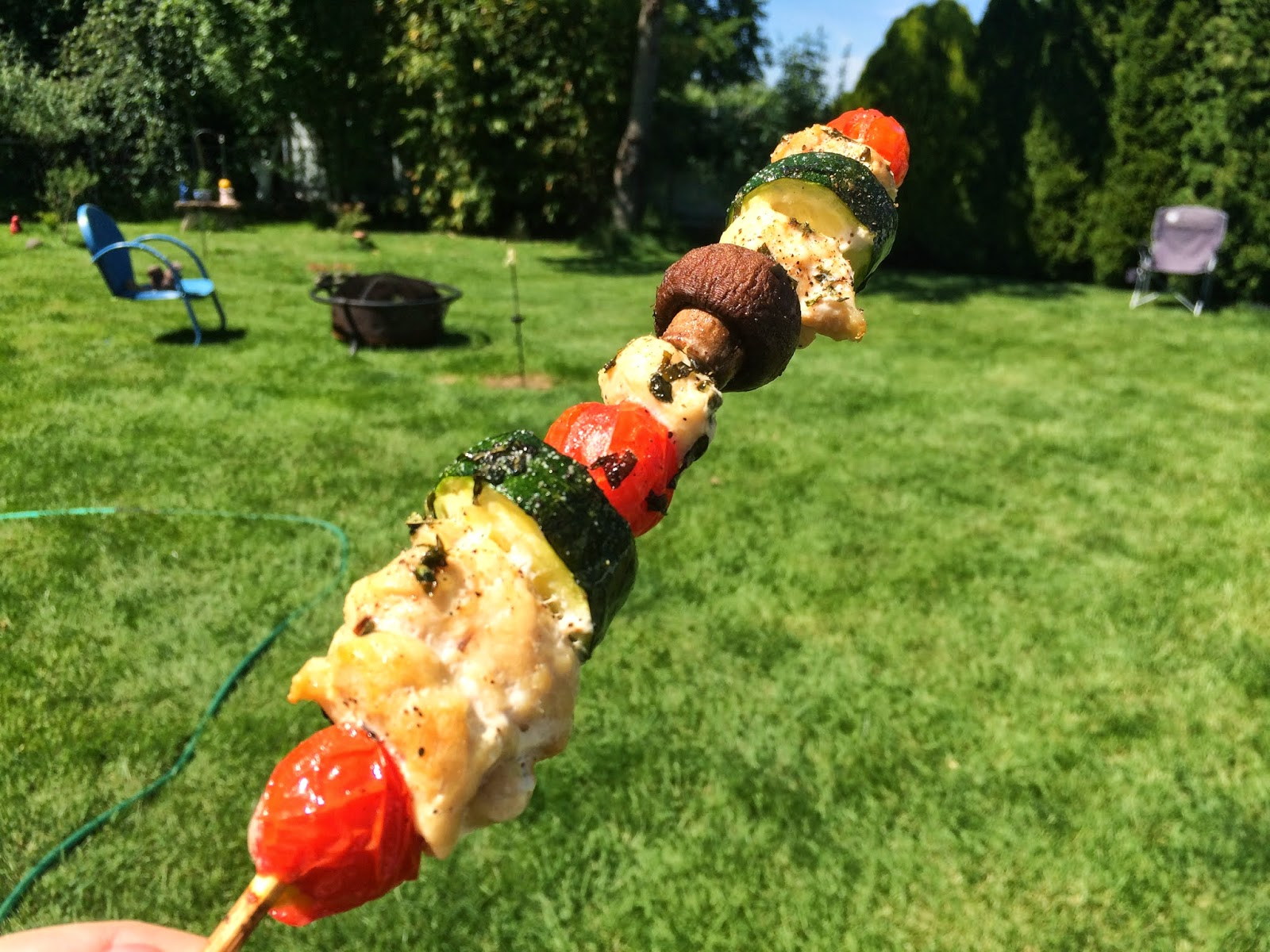 Grilling, chicken kabob, kabobs, Memorial Day BBQ