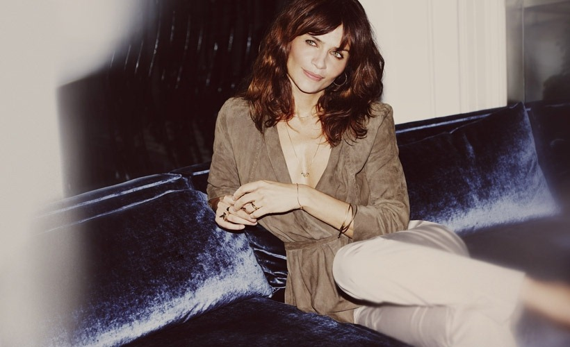 via fashioned by love | Helena Christensen for Caractere Spring/Summer 2011 campaign (photography: Guy Aroch)